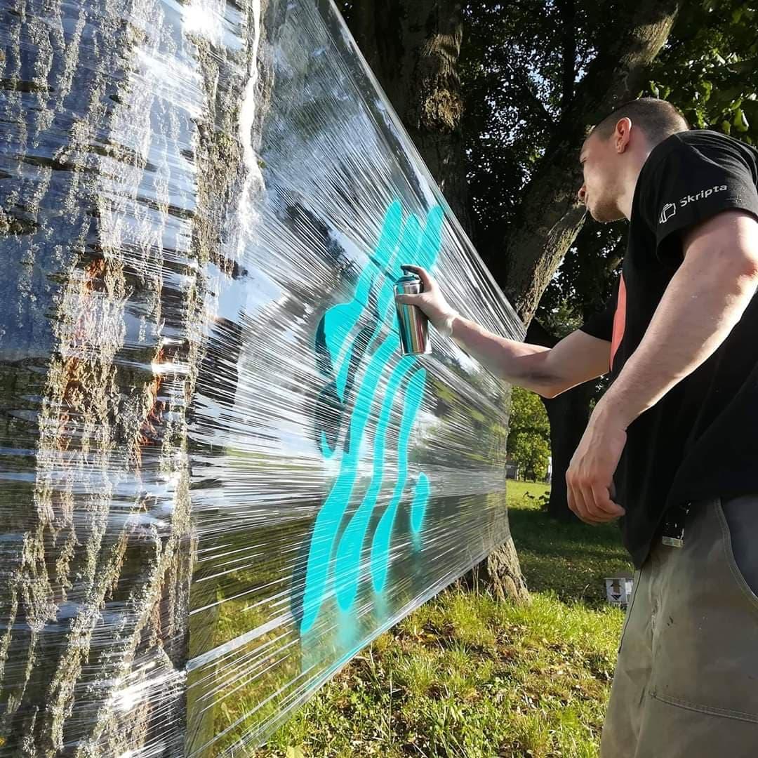 slikanje grafita